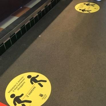 Granville Island Floor Signage